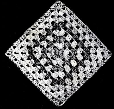 Granny Bedspread Pattern Square
