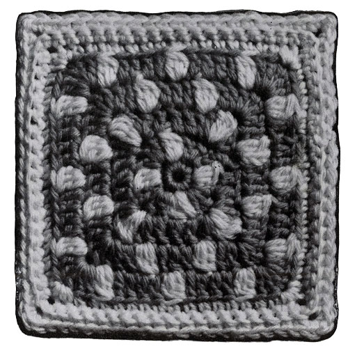 Polka Dot Afghan Pattern motif