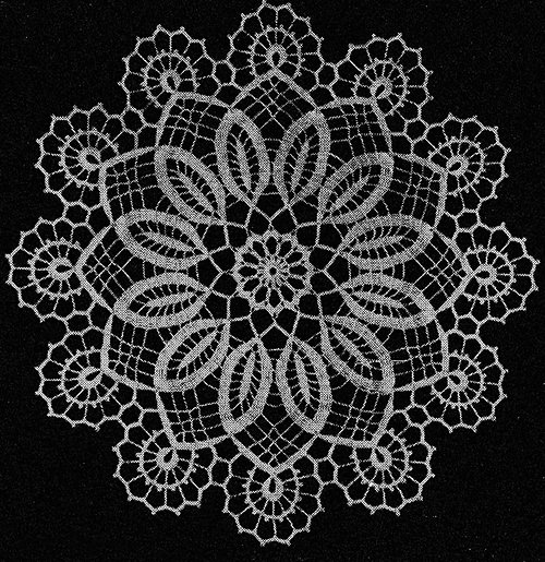 Easter Lovelies Doily Pattern #3