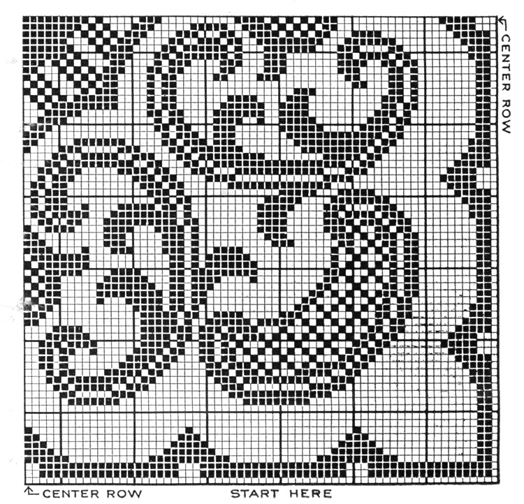 Arabesque Doily Pattern #7610