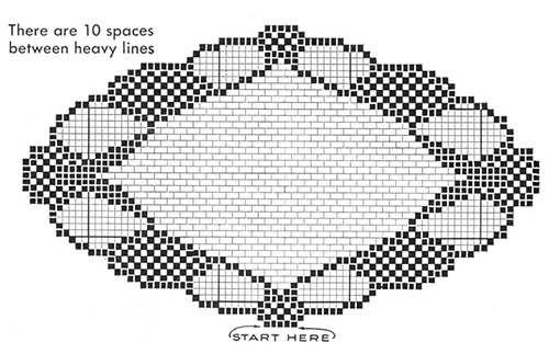 Love-at-Sight Doily Pattern #7571