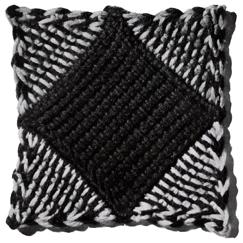 Patchwork Afghan Pattern motif