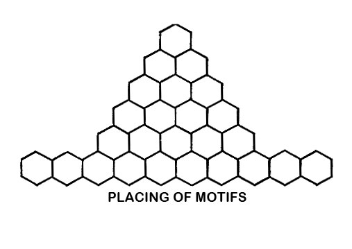 Petal Pyramid Motif Pattern chart
