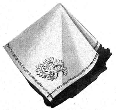 Tablecloth Pattern, No. 2806 motif