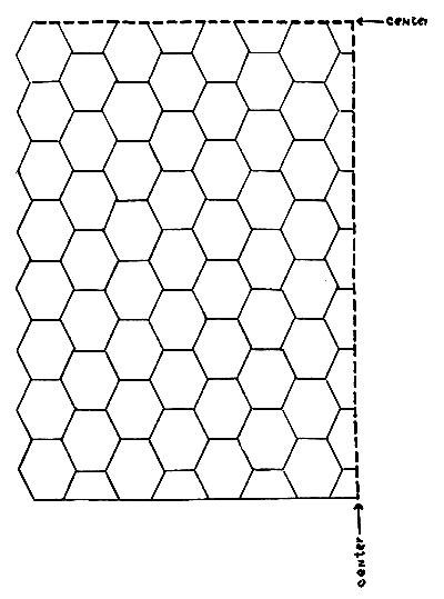 Swedish Popcorn Bedspread Pattern Chart