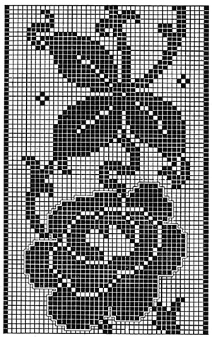 Victoria Regina Bedspread Pattern #683 chart