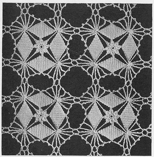 Crystal Web Bedspread Pattern #690 swatch