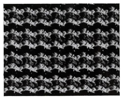 Navajo Afghan Pattern motif
