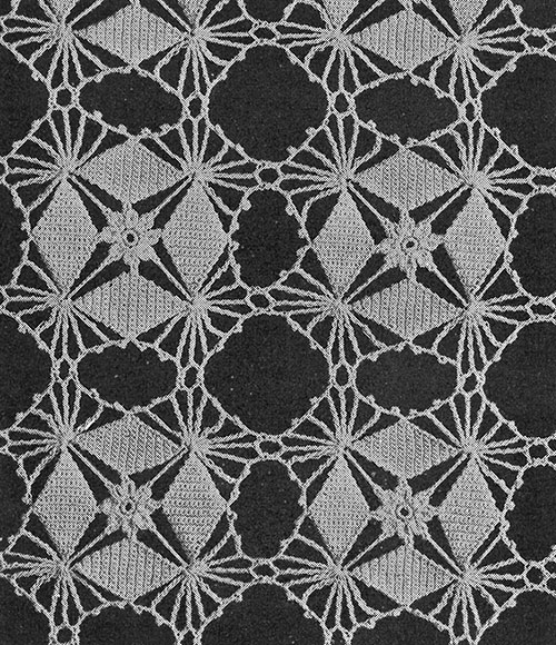 Crystal Web Tablecloth Pattern #7189 swatch