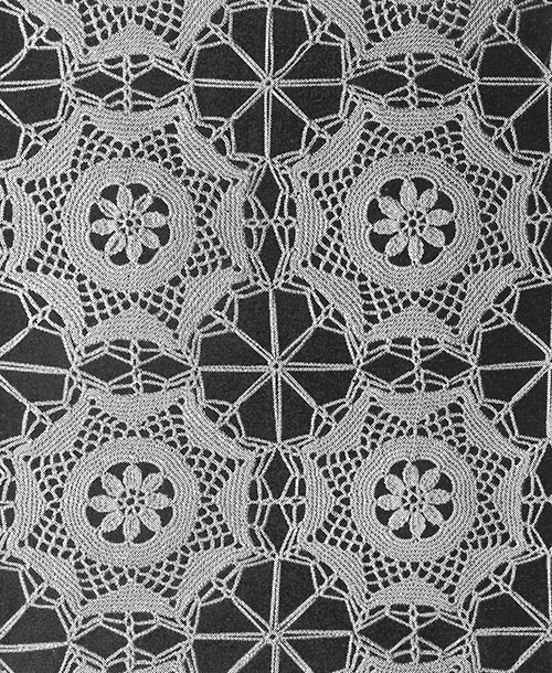 Ballerina Tablecloth Pattern #7244 swatch