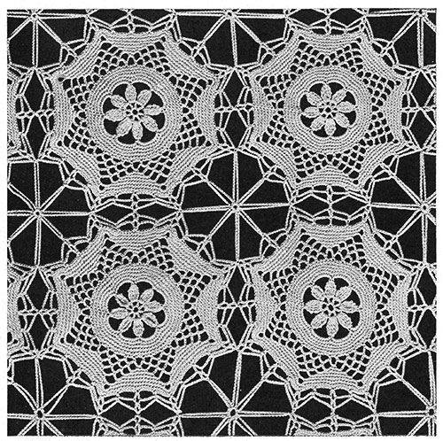 Ballerina Bedspread Pattern #674 swatch