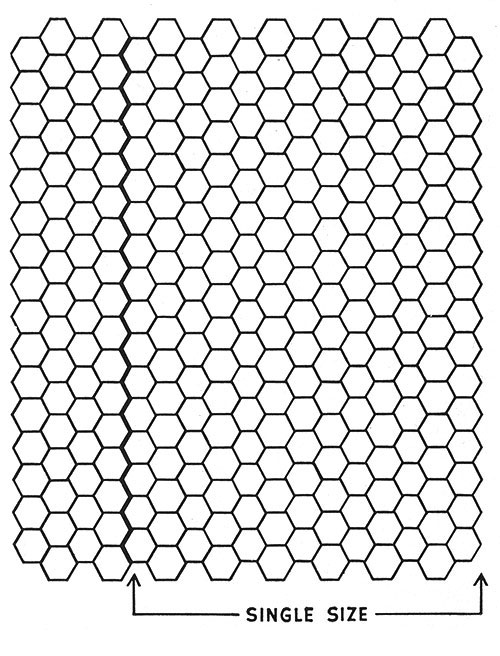 Popcorn Pinwheel Bedspread Pattern #682 chart