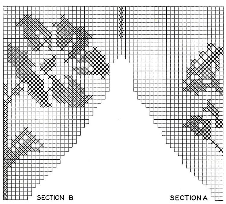 Doily Pattern #9-137 chart