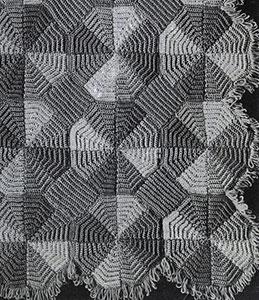 Cartwheel Afghan Pattern #638