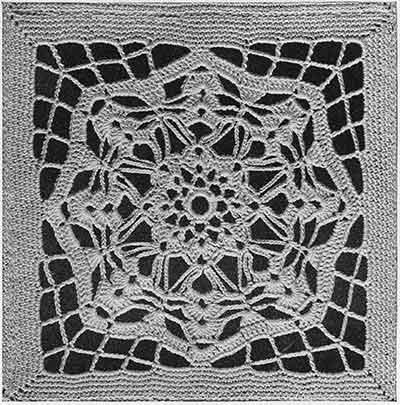 Serenade Bedspread Pattern #654 swatch