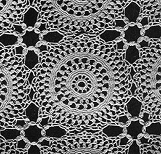 Will o' the Wisp Tablecloth Pattern #7147 swatch