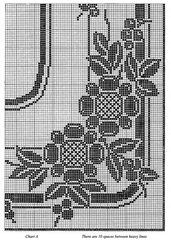 Ever After Tablecloth Pattern #7155 chart 1