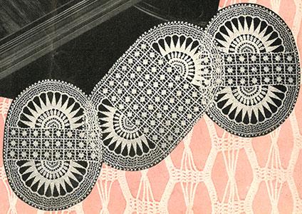 Sheer Dining Room Set Pattern #7160