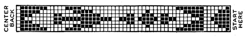 Navajo Belt Pattern #2382