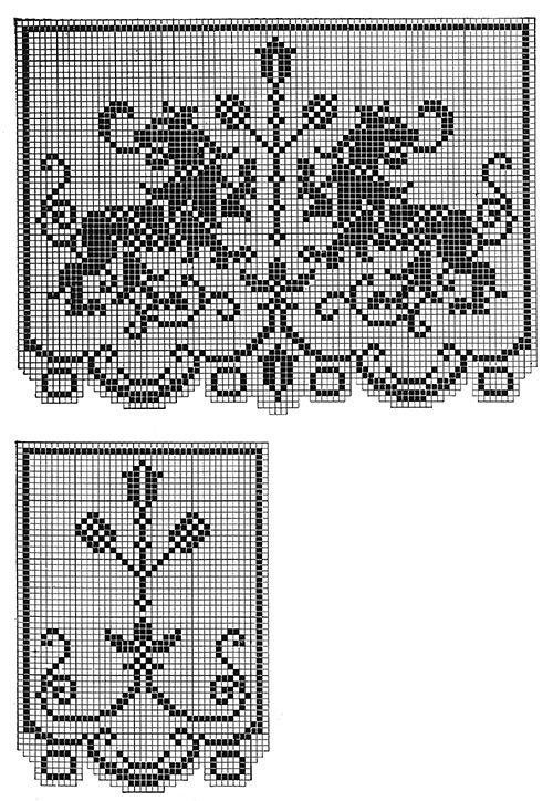 Buckingham Chair Set Pattern #7224 chart