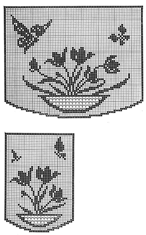 Maytime Chair Set Pattern #7227 chart
