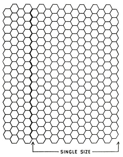 Hexagon Motif Pattern chart
