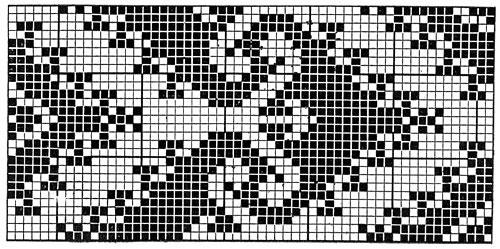 Heirloom Bedspread Pattern chart