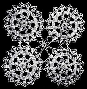 Circle Motif Pattern chart