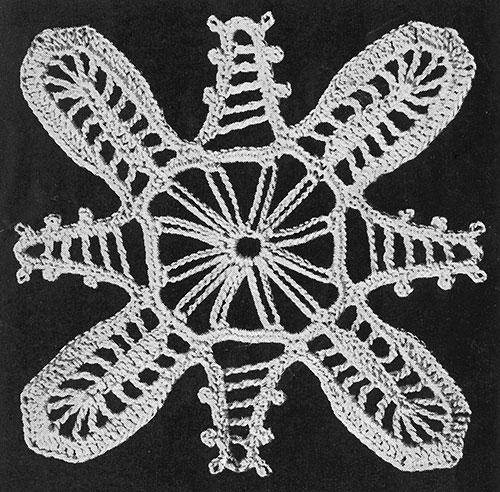 Invitation Tablecloth Pattern #7192