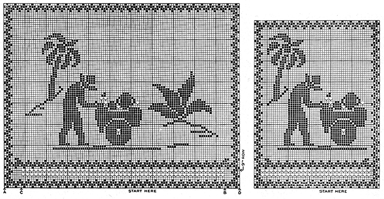 Tropicale Chair Set Pattern #7373