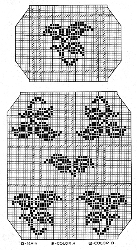 Four Star Chair Set Pattern #7375
