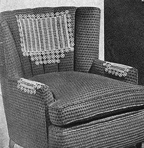 Bamboo Chair Set Pattern #7500