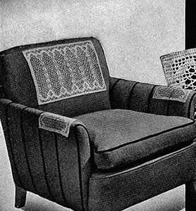 Colonnade Runner and Chair Set Pattern #7504