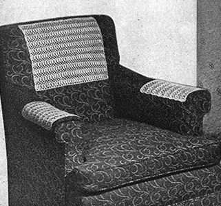 Field of Wheat Chair Set Pattern #7508