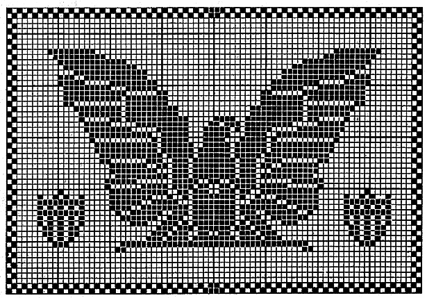 Spread Eagle Chair Set Pattern #7510