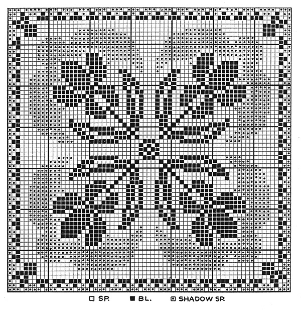 Iris Arrangement Tablecloth Pattern #7584