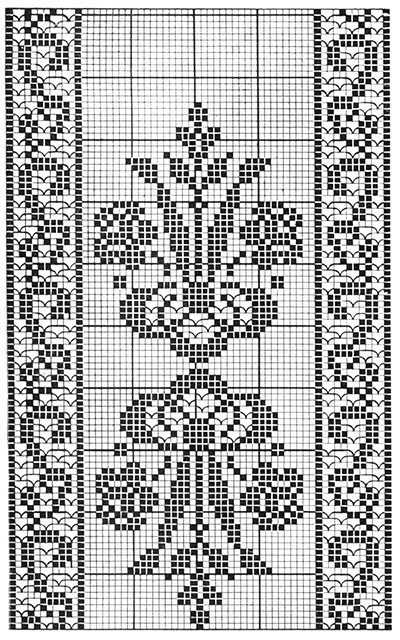 Beauty's Worth Bedspread Pattern #6114