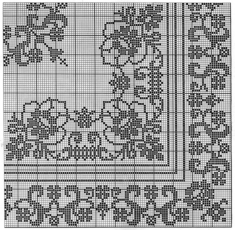 Aristocrat Tablecloth Pattern #7528
