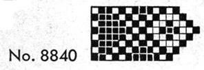 Edging #8840 Pattern