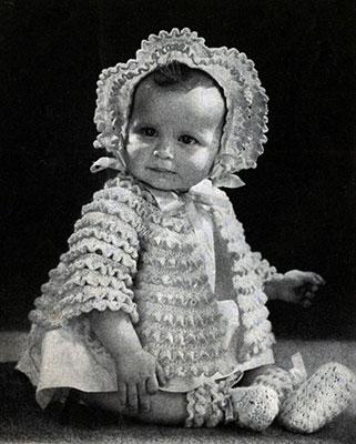 Baby Set Pattern #5238