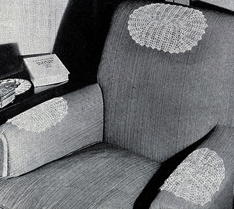 Shell Stitch Oval Chair Set Pattern #241