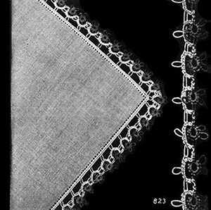 Handkerchief Edging Patterns #823