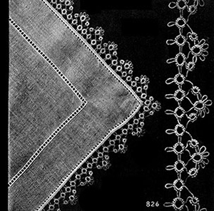 Handkerchief Edging Patterns #826