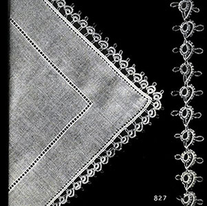 Handkerchief Edging Patterns #827