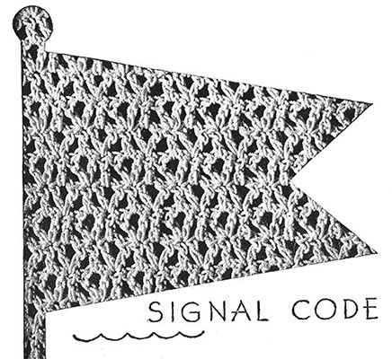 Signal Code Blouse Pattern #149 swatch