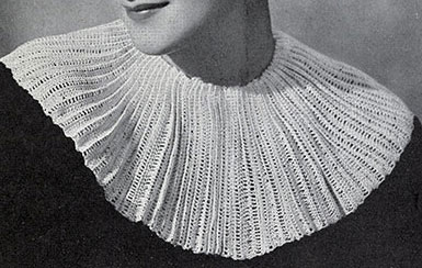 The Ribbed Collar Pattern #253
