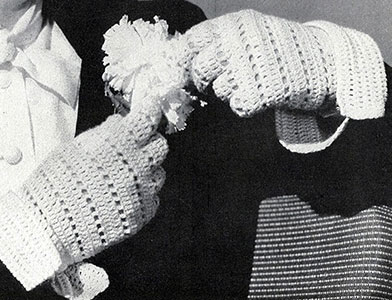 Crocheted Sport Glove Pattern #63