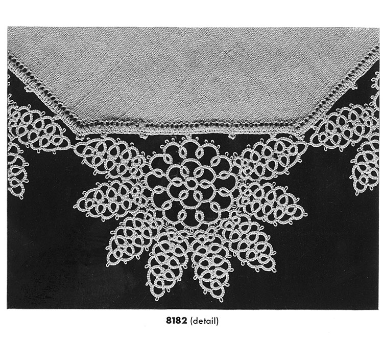 Tatting Doily Pattern #8182