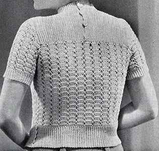 Monogram Pullover Pattern #1064