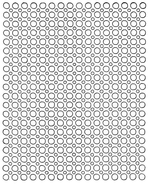 Star Wheel Tablecloth Pattern #744-H chart
